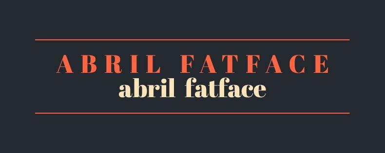 Font Abril