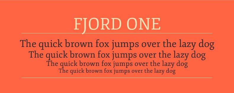 Font Fjord
