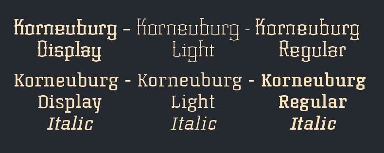 Font Korneuburg