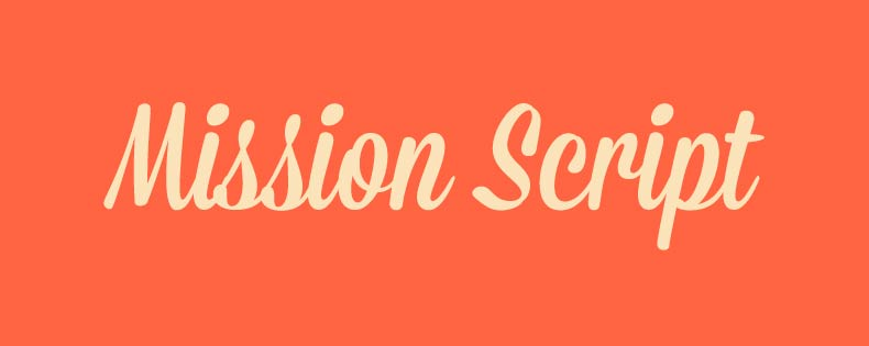 Font Mission