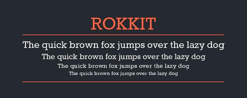 font_rokkit